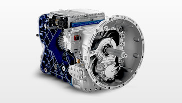 I-Shift gearbox
