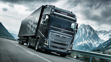 Volvo FH16 cu I-Shift Dual Clutch pe drum