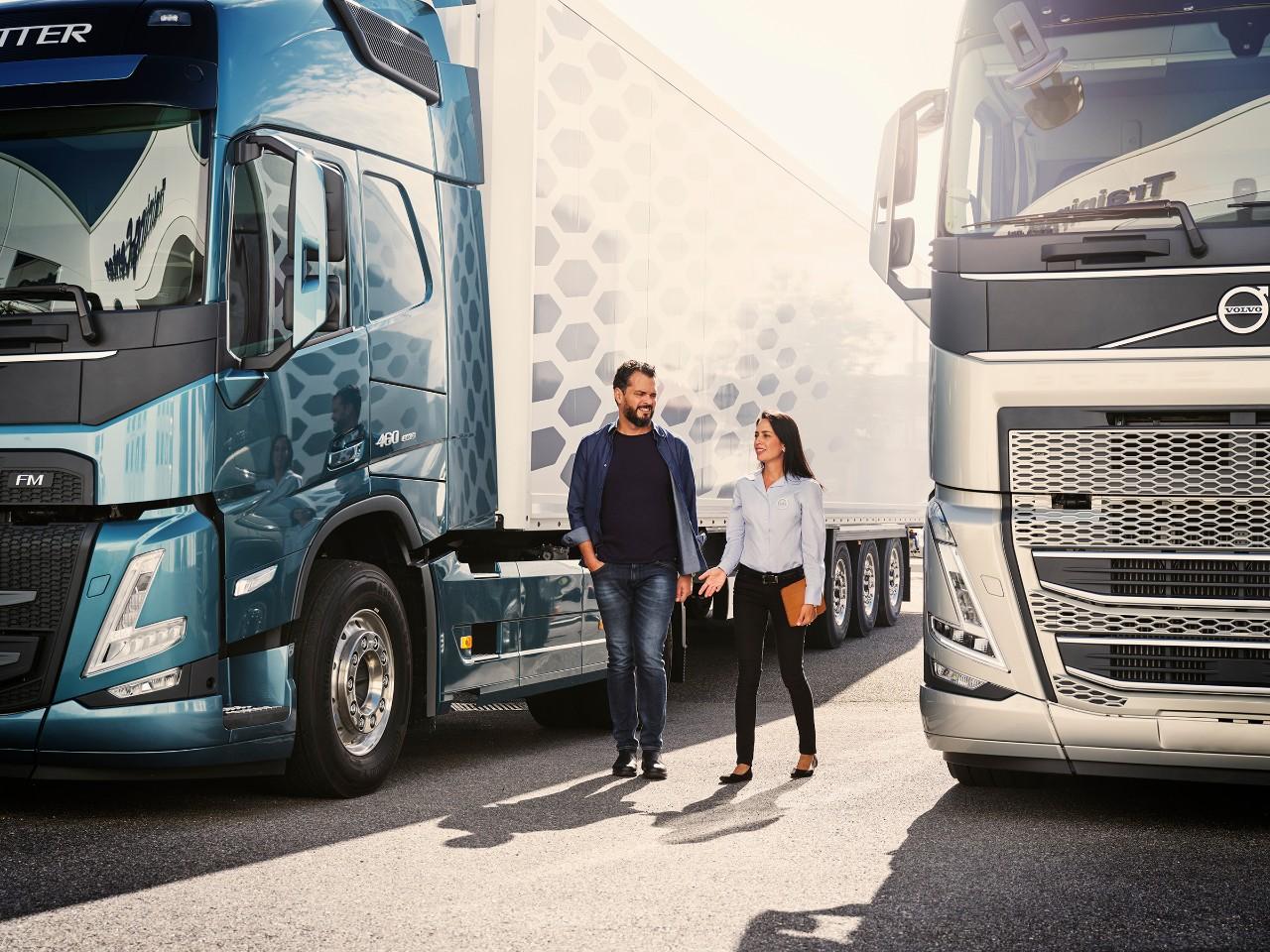 Servicii pentru autocamioane – adaptate afacerii dumneavoastră