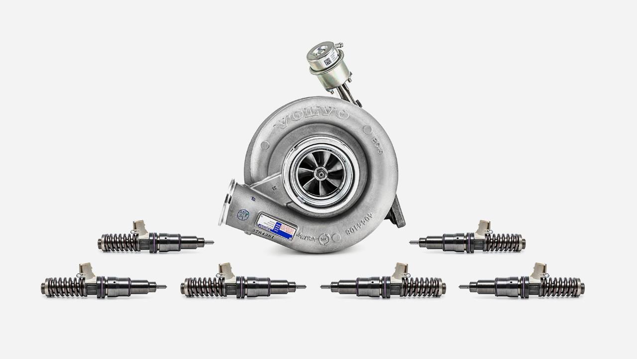 Kit suplimentar de revizie a motoarelor autocamioanelor Volvo