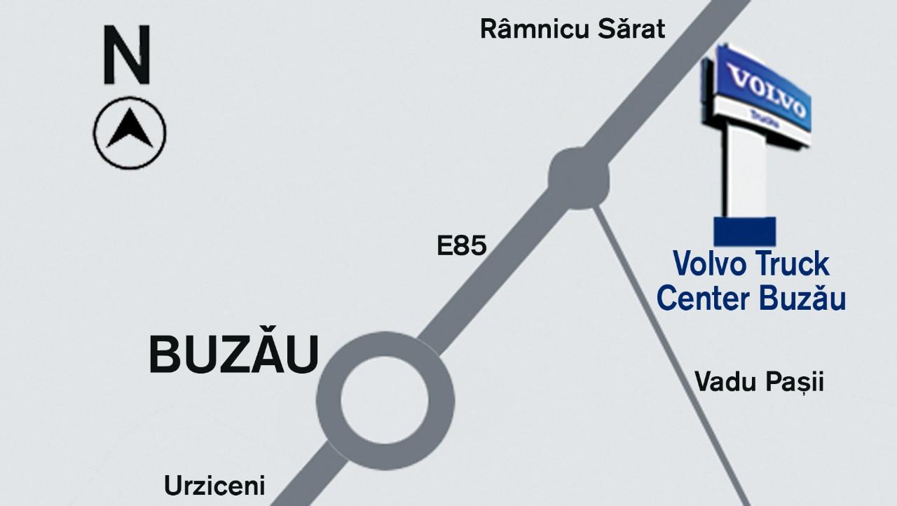 Harta localizare Truck Center Buzau
