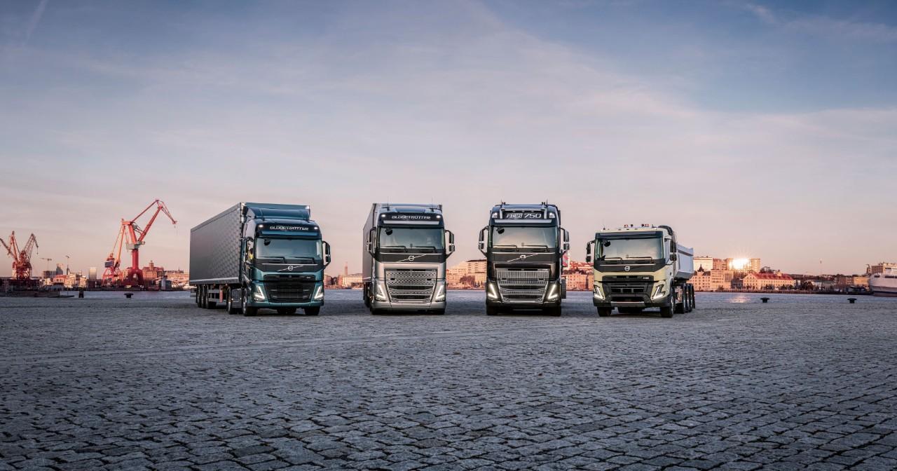 Cea mai recentă gamă de autocamioane pentru transportul de mare tonaj de la Volvo Trucks