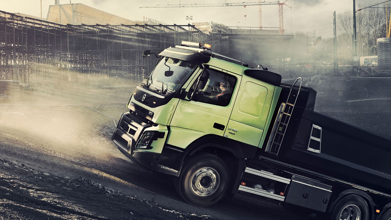Truck slope productivity Driver Challenge